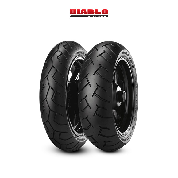 DIABLO SCOOTER tire for HONDA WW 125 EX2  (> 2017) motorbike