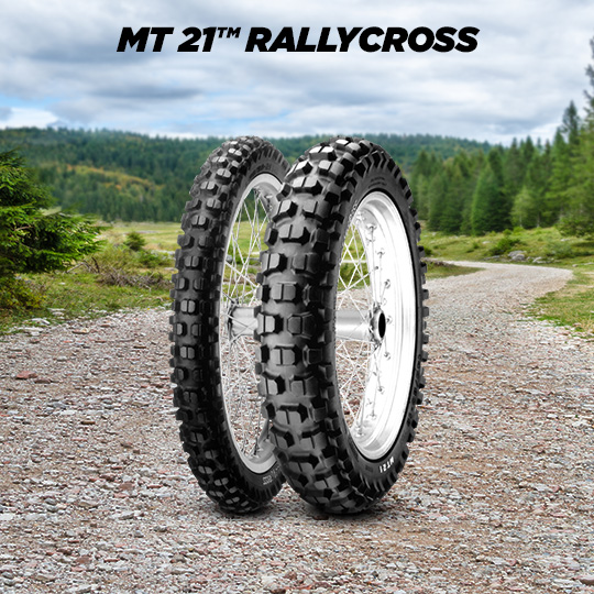 MT 21 RALLYCROSS tire for HONDA NX 650 Dominator  (1991>1994) motorbike