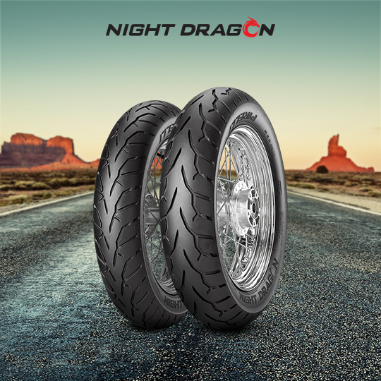 NIGHT DRAGON tire for YAMAHA XV 1600 A Wild Star  (> 1999) motorbike