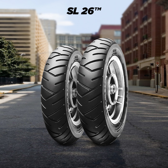 SL 26 motorbike tire for scooter