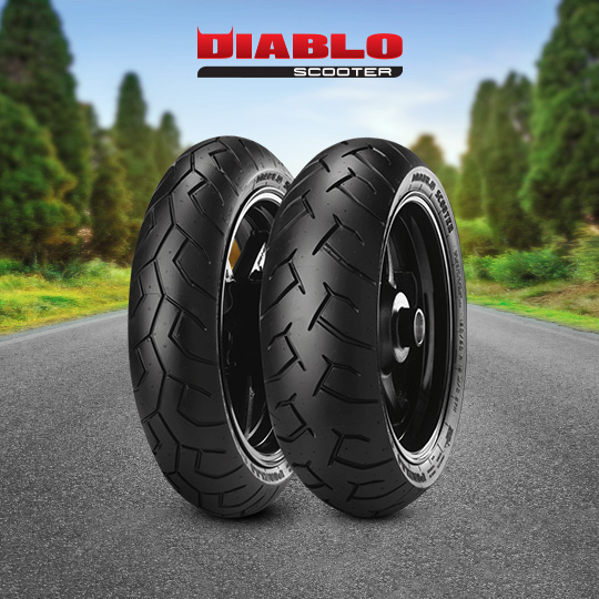 DIABLO SCOOTER motorbike tire for scooter