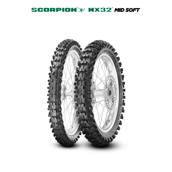 Pneumatico moto per off road SCORPION MX32 MID SOFT