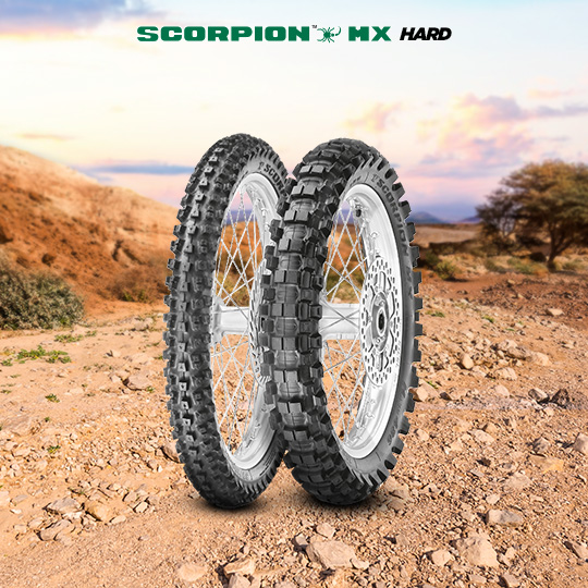 Pneumatico moto per off road SCORPION MX HARD