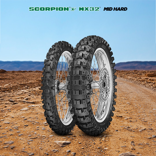 Pneumatico moto per off road SCORPION MX32 MID HARD