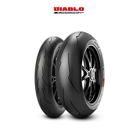 DIABLO SUPERCORSA V2 707 tire for HONDA CBR 600 F; Sport  MY  (> 2001) motorbike