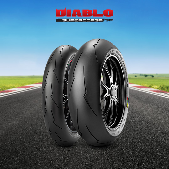 DIABLO SUPERCORSA V2 707 tire for YAMAHA YZF-R1  (> 2000) motorbike