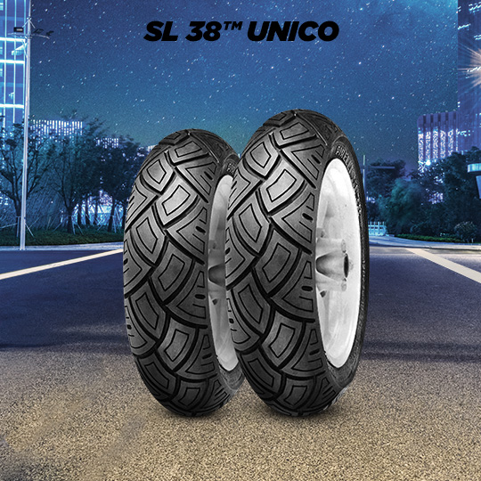 SL 38 UNICO motorbike tire for scooter