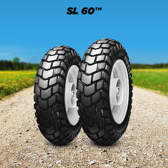 SL 60 tire for HONDA ZOOMER 50  (> 2005) motorbike