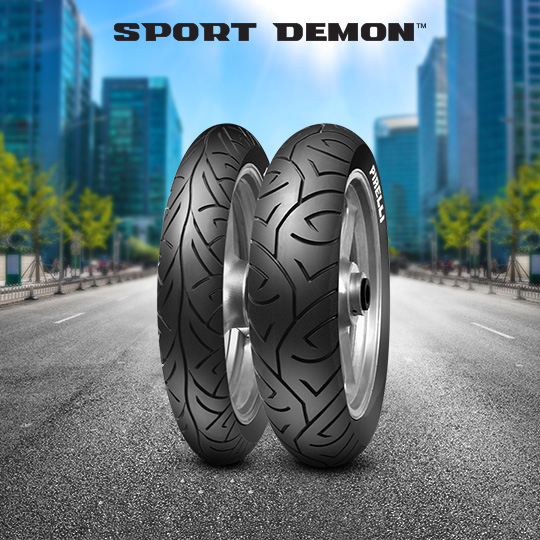 SPORT DEMON tire for HONDA CB 500 S (semi-monocoque)  MY  (> 1998) motorbike