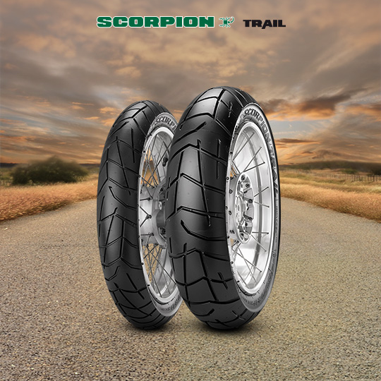 Pneumatico moto per on/off road SCORPION TRAIL