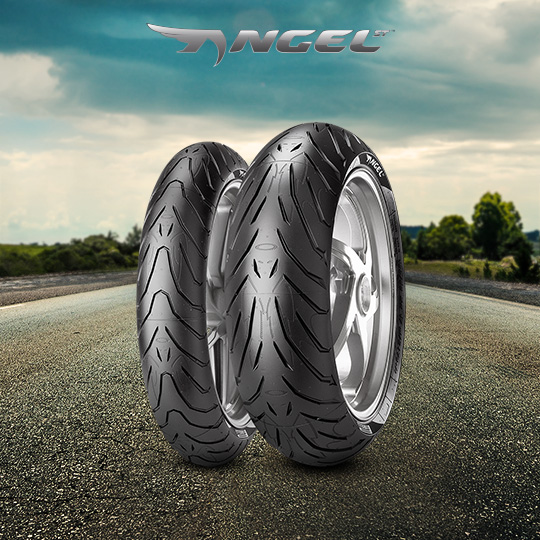 ANGEL ST tire for HONDA NC 700 X; XD  (> 2012) motorbike