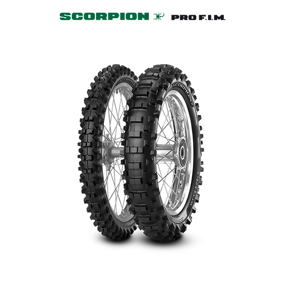 Pneumatico moto per off road SCORPION PRO
