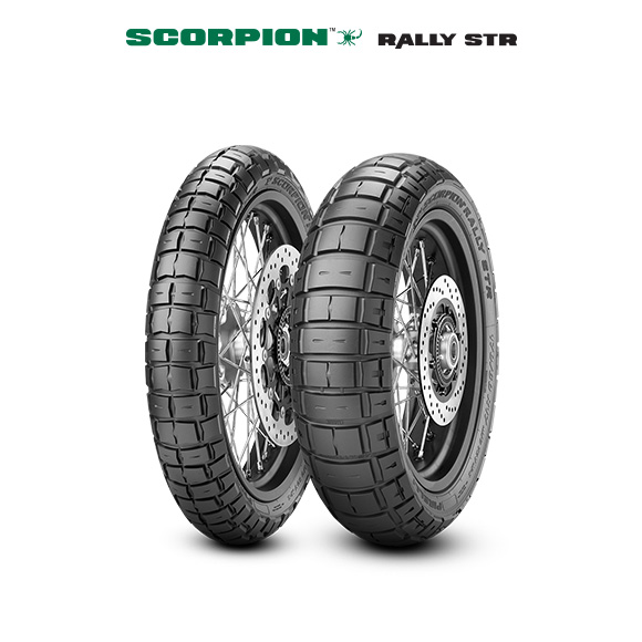 SCORPION RALLY STR tire for HONDA XRV 750 Africa Twin  (> 1993) motorbike