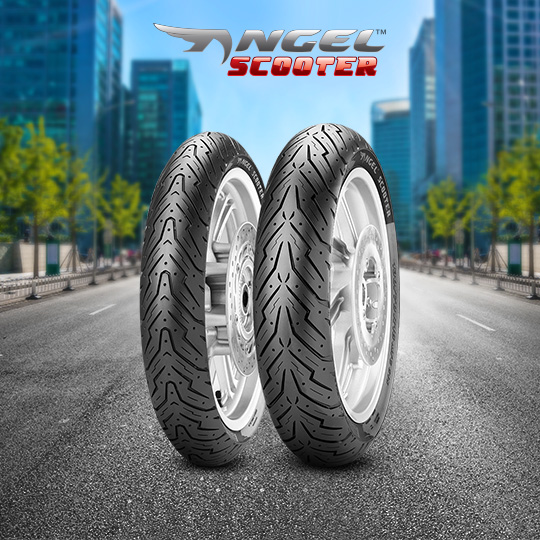 ANGEL SCOOTER tyre for DAELIM Besbi 125  (> 2008) motorbike