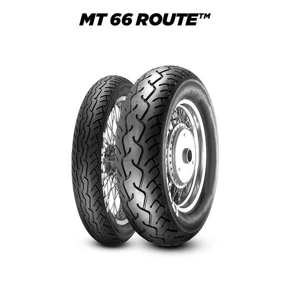 ROUTE MT 66 motorbike tyre for road