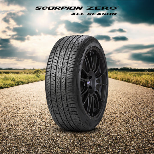Pneumatico SCORPION ZERO ALL SEASON per auto TOYOTA Fortuner