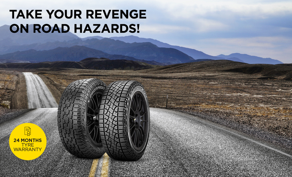 Pirelli Car Tyres Review India, Cover Your Pirelli Scorpion Atr Or Scorpion All Terrain Plus Tyres With The Road Hazards Warranty Against Potholes Gutters And Debris, Pirelli Car Tyres Review India