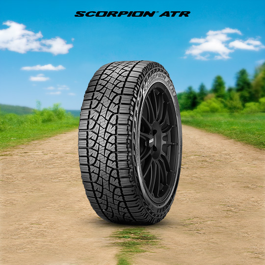 SCORPION ATR tire for Ford F-250 Lariat