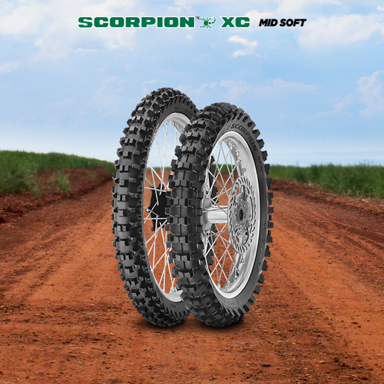 SCORPION XC MID SOFT motorbike tyre for off road