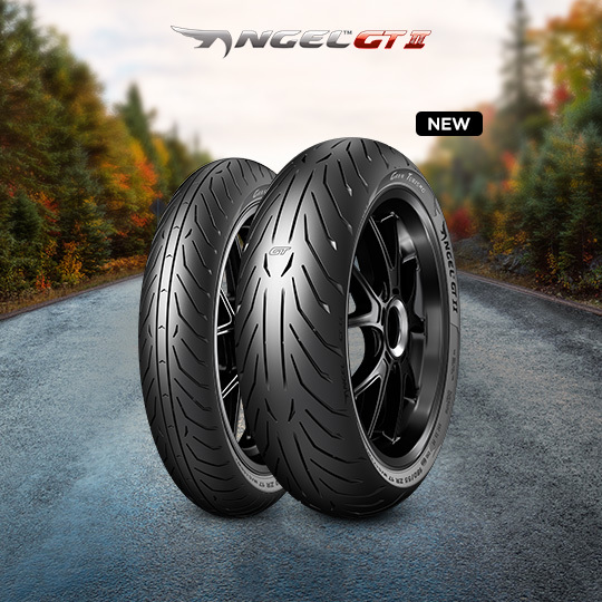 ANGEL GT II tire for YAMAHA YZF-R6 (S)  (> 2005) motorbike