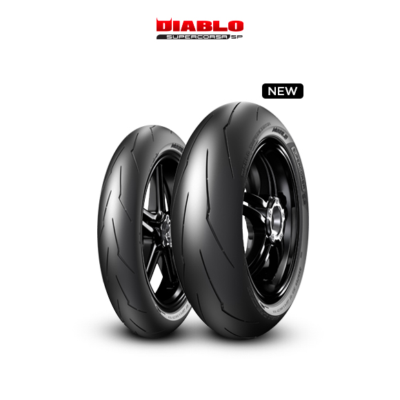 DIABLO SUPERCORSA V3 707 tyre for BMW S 1000 RR  MY - 2014  (2009>2014) motorbike