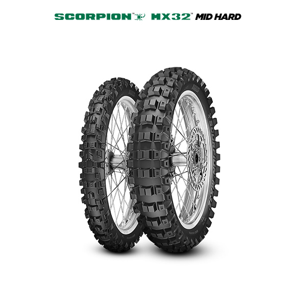SCORPION MX32 MID HARD motorbike tyre for off road