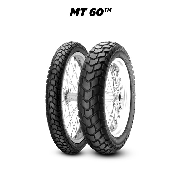 MT 60 tyre for BMW F 650 (Funduro)  (1993>1999) motorbike