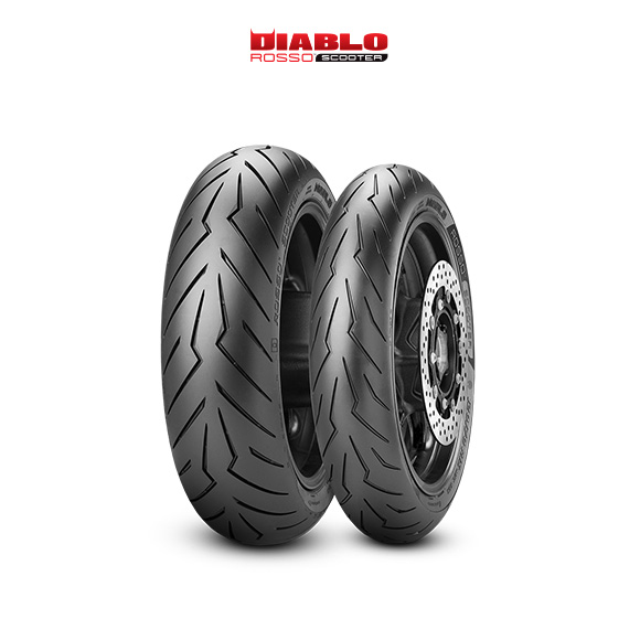 DIABLO ROSSO SCOOTER tyre for YAMAHA T-Max XP 500 / ABS  MY  (> 2008) motorbike