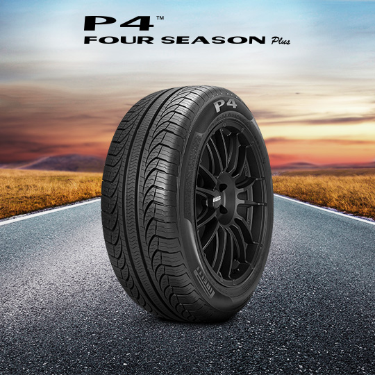 P4 FOUR SEASONS PLUS tire for Ford Crown Victoria