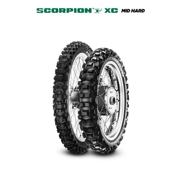 SCORPION XC MID HARD motorbike tyre for off road