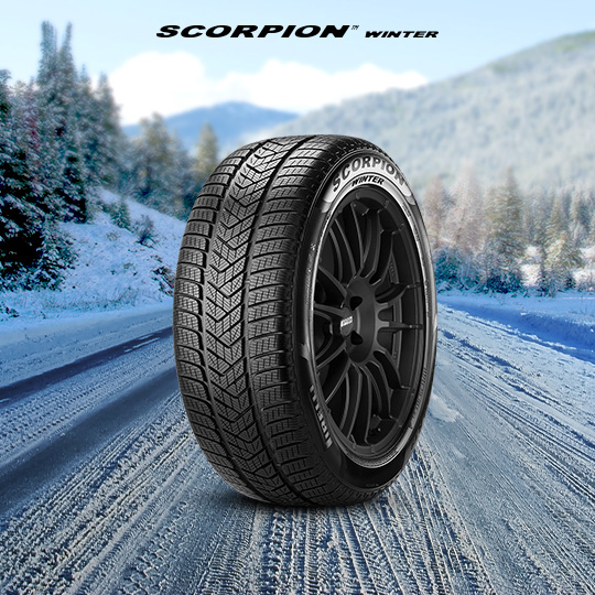 Pneumatico SCORPION WINTER per auto TOYOTA Fortuner