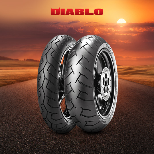 DIABLO tyre for SUZUKI GSR 600 (all versions)  (> 2006) motorbike