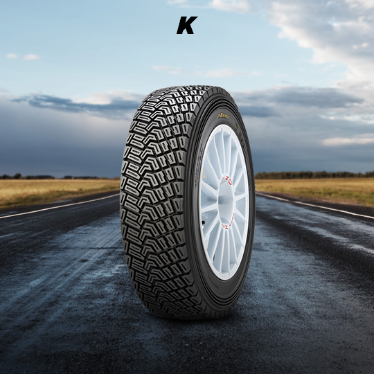 K motorsport tires for rally