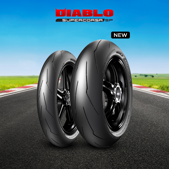 DIABLO SUPERCORSA V3 707 tire for HONDA CBR 600 F; Sport  MY  (> 2001) motorbike