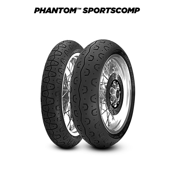 PHANTOM SPORTSCOMP tyre for BMW R Nine T /5  MY 2020  (> 2020) motorbike