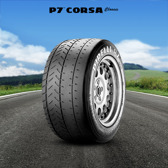 P7 CORSA CLASSIC motorsport tires for rally