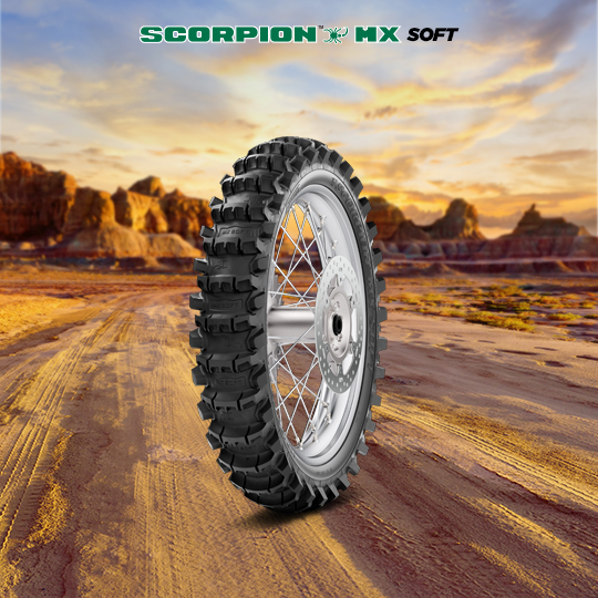 SCORPION MX SOFT motorbike tyre for off road