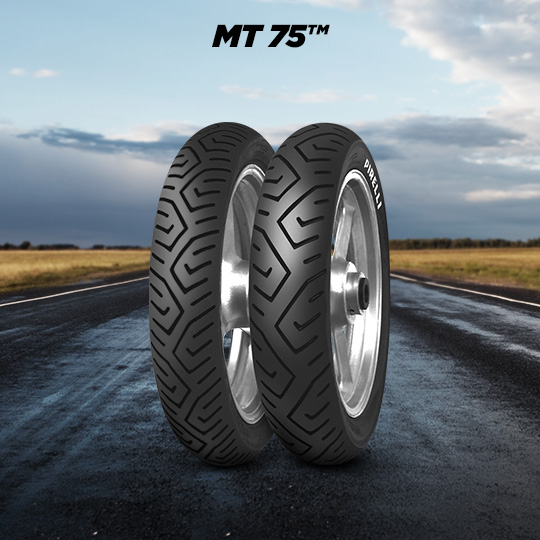 MT 75 motorbike tyre for road