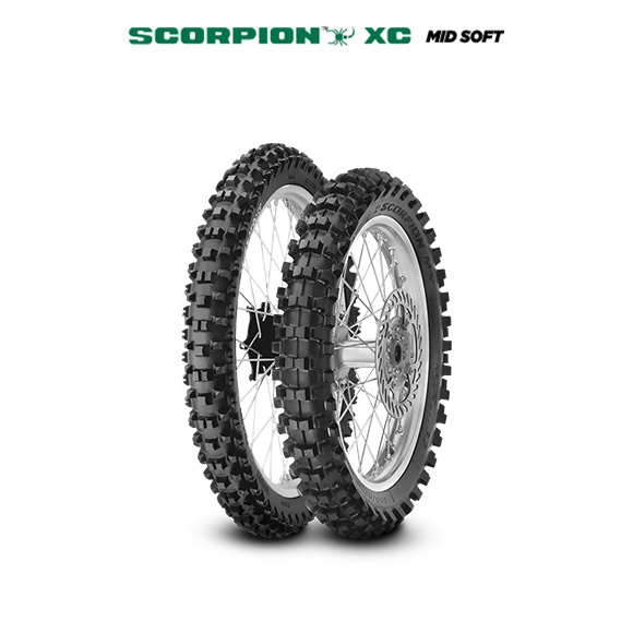Pneumatico moto per off road SCORPION XC MID SOFT