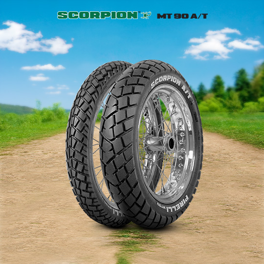 MT 90 A/T SCORPION tyre for APRILIA RXV / MXV 450  (> 2006) motorbike
