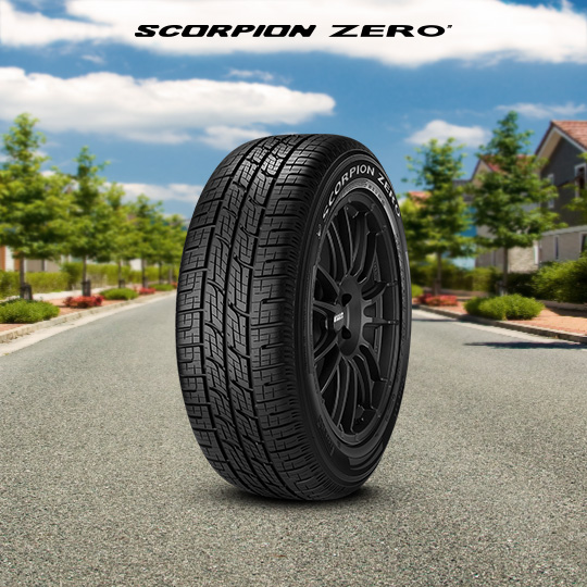 SCORPION ZERO tire for Ford Explorer Sport Trac