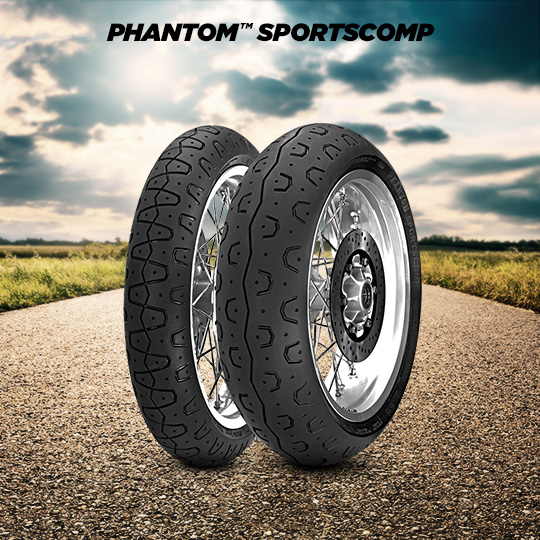 PHANTOM SPORTSCOMP motorbike tyre for road