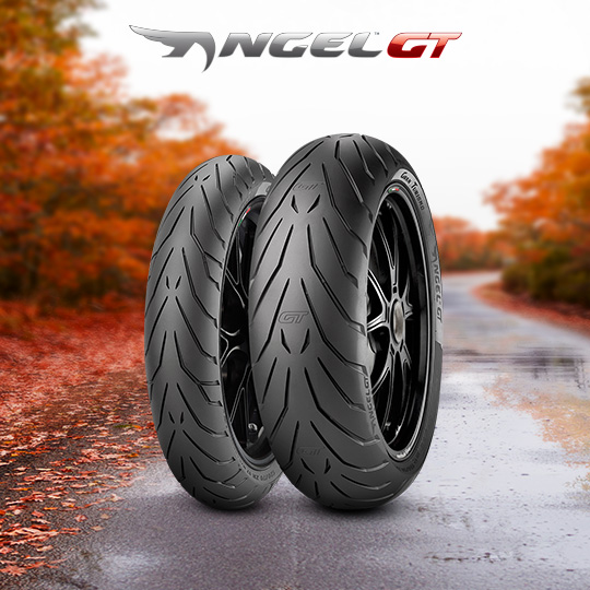 ANGEL GT motorbike tyre for road