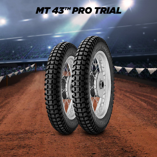 MT 43 PRO TRIAL motorbike tyre for off road