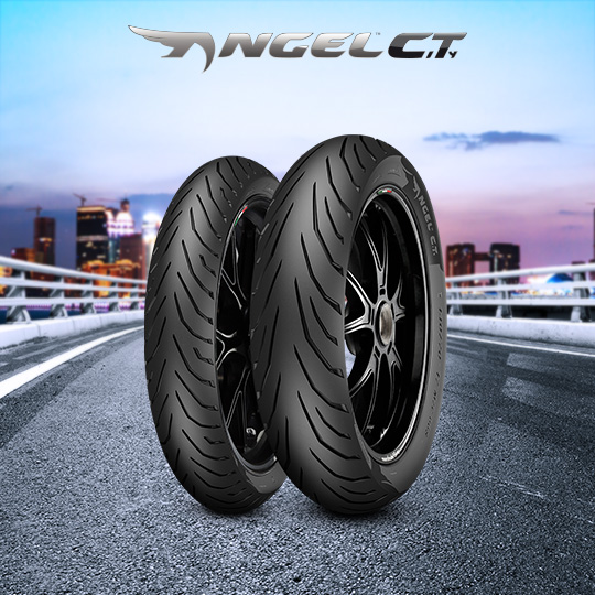 Pneu ANGEL CITY pour moto HONDA NSR 125 R  (> 1999)