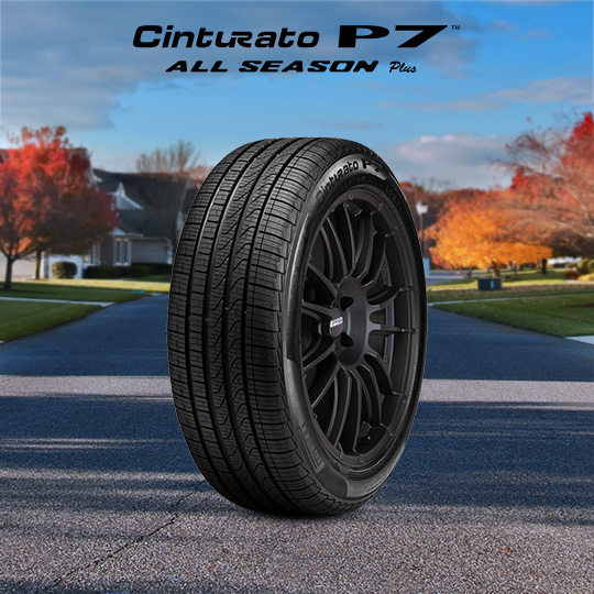CINTURATO P7 ALL SEASON PLUS tire for Ford Transit Connect