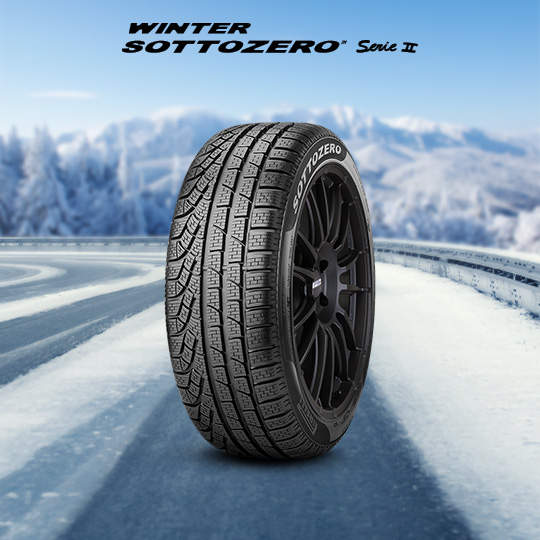 WINTER SOTTOZERO SERIE II шины для BRABUS E 320